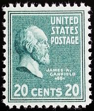 Buy 1938 20c James A. Garfield, 20th President Scott 825 Mint F/VF NH