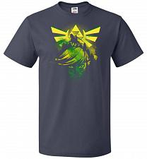 Buy Hero of Time Unisex T-Shirt Pop Culture Graphic Tee (3XL/J Navy) Humor Funny Nerdy Ge