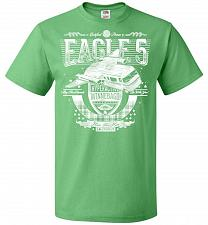 Buy Eagle 5 Hyperactive Winnebago Unisex T-Shirt Pop Culture Graphic Tee (3XL/Kelly) Humo