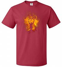Buy Praise The Sun Art Unisex T-Shirt Pop Culture Graphic Tee (5XL/True Red) Humor Funny