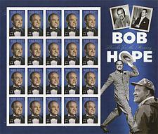 Buy 2009 44c Bob Hope, Thanks for the Memory, Sheet of 20 Scott 4406 Mint F/VF NH