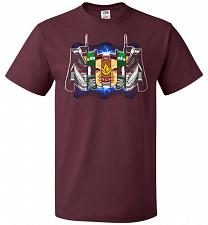 Buy Green Ranger Unisex T-Shirt Pop Culture Graphic Tee (XL/Maroon) Humor Funny Nerdy Gee