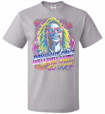 Buy Beetlejuice 80s Nostalgia Adult Unisex T-Shirt Pop Culture Graphic Tee (S/Silver) Hum