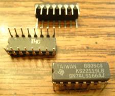 Buy Lot of 21: Texas Instruments SN74LS166AJ KS22119L8