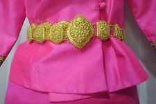 Buy Metal gold color belt Thai Laos Lao traditional for women wedding dress # B3