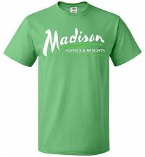 Buy Billy Madison Hotels & Resorts Adult Unisex T-Shirt Pop Culture Graphic Tee (5XL/Kell