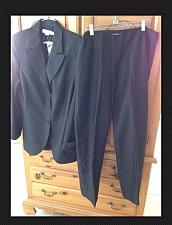 Buy Women's black pants suit by Garfield & Marks size 14