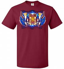 Buy Blue Ranger Unisex T-Shirt Pop Culture Graphic Tee (S/Cardinal) Humor Funny Nerdy Gee