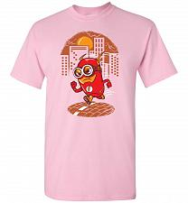 Buy Flash Minion Unisex T-Shirt Pop Culture Graphic Tee (4XL/Light Pink) Humor Funny Nerd