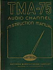 Buy Raytheon TMA-75 Audio Channel Instruction Manual