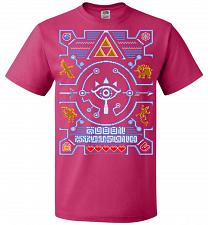 Buy Legend Of Zelda Ugly Sweater Design Adult Unisex T-Shirt Pop Culture Graphic Tee (L/C