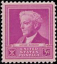 Buy 1940 3c Luther Burbank, American Botanist Scott 876 Mint F/VF NH