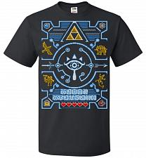 Buy Legend Of Zelda Ugly Sweater Design Adult Unisex T-Shirt Pop Culture Graphic Tee (S/B