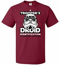 Buy A Trooper's GuideTo Droid Identification Unisex T-Shirt Pop Culture Graphic Tee (5XL/