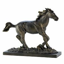 Buy 14583U - Running Wild Stallion Bronze Look Polystone Figurine Statue