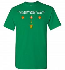 Buy It's Dangerous To Go Alone! Classic Zelda Unisex T-Shirt Pop Culture Graphic Tee (S/T