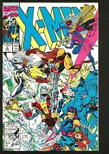 Buy X-men #3 1st Print Jim Lee NM- Last Claremont MARVEL1991