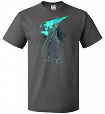 Buy Shadow Of The Meteor Unisex T-Shirt Pop Culture Graphic Tee (5XL/Charcoal Grey) Humor