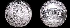 Buy 1767 German States Brandenburg Ansbach 1/2 Thaler World Silver Coin - Alexander