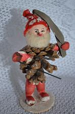 Buy 1900s Antique German Pine Cone Elf Gnome Christmas Folk Art Decoration