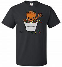 Buy A Pot Full Of Candies Unisex T-Shirt Pop Culture Graphic Tee (3XL/Black) Humor Funny