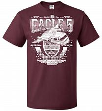 Buy Eagle 5 Hyperactive Winnebago Unisex T-Shirt Pop Culture Graphic Tee (5XL/Maroon) Hum
