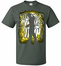 Buy Freddy Krueger Welcome To My World B! Adult Unisex T-Shirt Pop Culture Graphic Tee (6