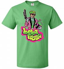 Buy Boba Fresh Unisex T-Shirt Pop Culture Graphic Tee (M/Kelly) Humor Funny Nerdy Geeky S