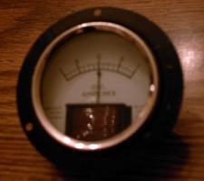 Buy Readrite D.C. AMPERES Panel Meter