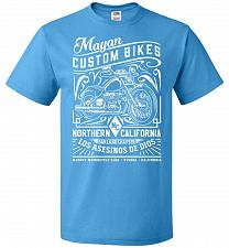 Buy Mayan Custom Bikes Sons Of Anarchy Adult Unisex T-Shirt Pop Culture Graphic Tee (S/Pa