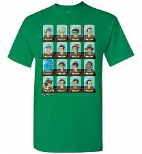 Buy Doctorama Unisex T-Shirt Pop Culture Graphic Tee (M/Turf Green) Humor Funny Nerdy Gee
