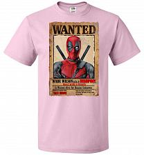 Buy Deadpool Wanted Poster Youth Unisex T-Shirt Pop Culture Graphic Tee (Youth XL/Classic