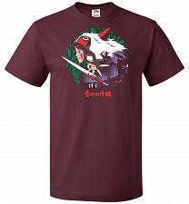 Buy Guardians of the Forest Unisex T-Shirt Pop Culture Graphic Tee (4XL/Maroon) Humor Fun