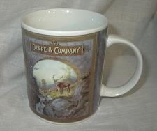 Buy G127 John Deere and Company 1899 Elk Deer Hunting Scene Coffee Mug by Gibson