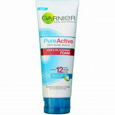 Buy Garnier Pure Active Anti Acne White Oil Clearing Foam 100ml