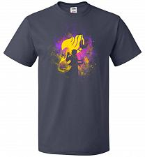 Buy Dragneel Art Unisex T-Shirt Pop Culture Graphic Tee (M/J Navy) Humor Funny Nerdy Geek