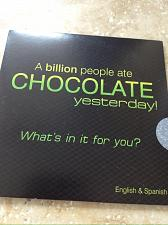 Buy A Billion People Ate Chocolate Yesterday CD