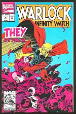 Buy WARLOCK AND THE INFINITY WATCH #4 VF+/NM- THEY J Starlin GUARDIANS OF THE GALAXY