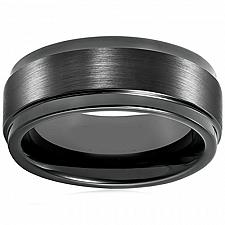 Buy coi Jewelry Black Tungsten Carbide Wedding Band Ring