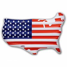 Buy Inflatable USA Continent Pool Float Patriotic Party beach Summer Party July 4