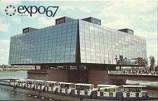 Buy EXPO 67 Ile Notre Dame Quebec Pavilion Postcard