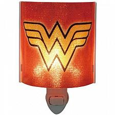 Buy :10457U - Wonder Woman Logo Red Acrylic Nightlight