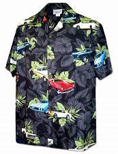 Buy Men's Cool Wheels Muscle Cars Hawaiian Shirt #410-3882