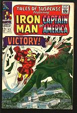 Buy Tales of Suspense #83 Fine- Capt America & Iron Man COLAN S LEE JACK KIRBY 1966