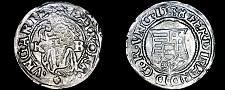 Buy 1538-KB Hungary 1 Denar World Silver Coin - Madonna with Child - Ferdinand I