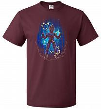 Buy Shadow Of The Majin Unisex T-Shirt Pop Culture Graphic Tee (XL/Maroon) Humor Funny Ne