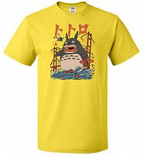 Buy The Neighbors Attack Unisex T-Shirt Pop Culture Graphic Tee (6XL/Yellow) Humor Funny