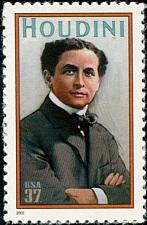 Buy 2002 37c Harry Houdini, Magician Scott 3651 Mint F/VF NH