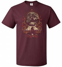 Buy The Vampire's Killer Unisex T-Shirt Pop Culture Graphic Tee (XL/Maroon) Humor Funny N