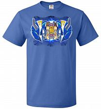 Buy Blue Ranger Unisex T-Shirt Pop Culture Graphic Tee (XL/Royal) Humor Funny Nerdy Geeky